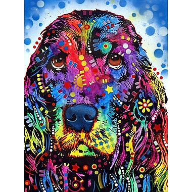 East Urban Home 'Cocker Spaniel' Rectangle Graphic Art Print; Paper