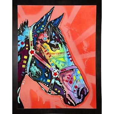 East Urban Home 'WC Horse 3' Graphic Art Print; Black Medium Framed