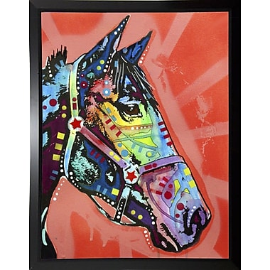 East Urban Home 'WC Horse 3' Graphic Art Print; Budget Saver Framed