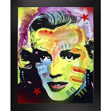 East Urban Home 'Marilyn Monroe I' Graphic Art Print; Black Large Framed