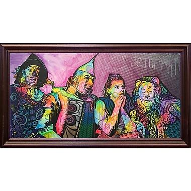 East Urban Home 'Wizard Of Oz' Graphic Art Print; Cherry Grande Framed