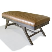 George Oliver Ullery Wood Bench; Smoke