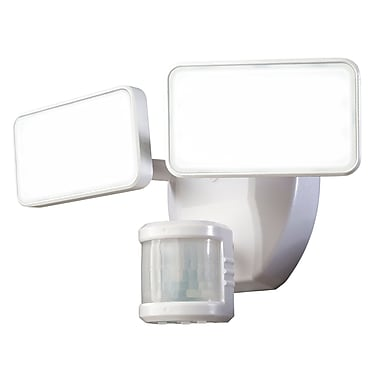 Heath-Zenith 240 Motion Activated 2-Light Security Light; White