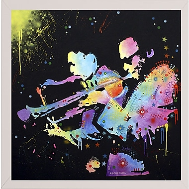 East Urban Home 'Miles Coltrane' Graphic Art Print; White Medium Framed