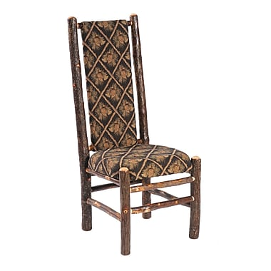 Fireside Lodge Hickory Side Chair; Stallion