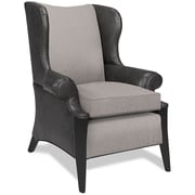 Latitude Run Keffer Armchair; Fabric - Aristocrat Dark Ash
