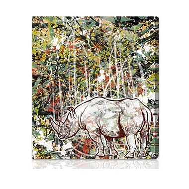 Ivy Bronx 'Wild' Graphic Art on Wrapped Canvas; 30'' x 36''