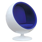 Orren Ellis Cristhian Kids Chair; Blue
