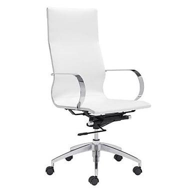 Orren Ellis Aleisha Conference High Back Desk Chair; White