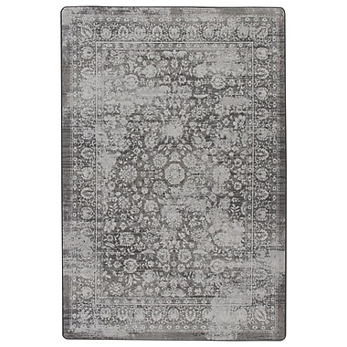 Ophelia & Co. Abba Burnished Silver Area Rug; 5'4'' x 7'8''