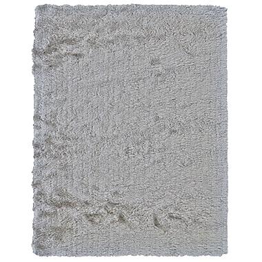 Willa Arlo Interiors Danae Hand-Tufted Platinum Area Rug; 7'6'' x 9'6''