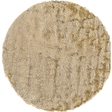 Willa Arlo Interiors Danae Hand-Tufted Cream Area Rug; Round 10'