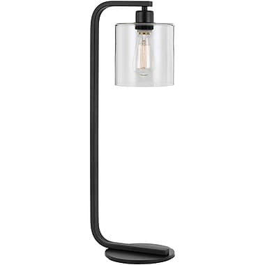 Williston Forge Sheena 26'' Table Lamp; Clear