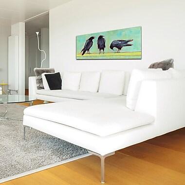 Red Barrel Studio 'Crow Bar 1 v2' Oil Painting Print; Plexiglass