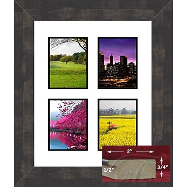 17 Stories Yefry Eclectic Collage Picture Frame; 5'' x 7''
