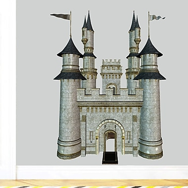 SweetumsWallDecals Real Life Castle Wall Decal; 48'' H x 36'' W