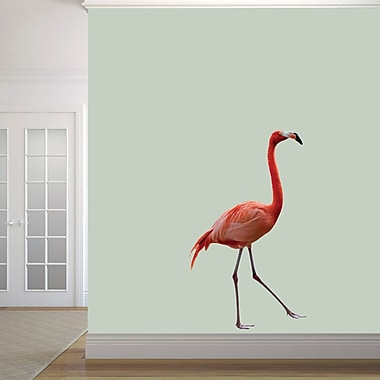 SweetumsWallDecals Real Life Flamingo Wall Decal; 48'' H x 28'' W