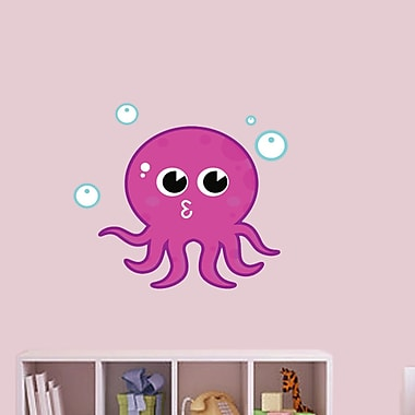 SweetumsWallDecals Octopus Wall Decal; 26'' H x 32'' W