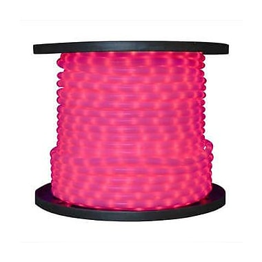 The Holiday Aisle 150 ft. LED Rope Light; Pink