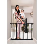 Regalo Easy Step Extra Wide Safety Gate; Black