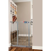 Regalo Easy Step Extra Wide Safety Gate; Gray