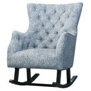 New Pacific Direct Abigail Rocking Chair; Flax by