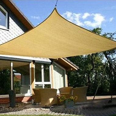 Vandue Corporation 16'5'' Square Shade Sail; Beige
