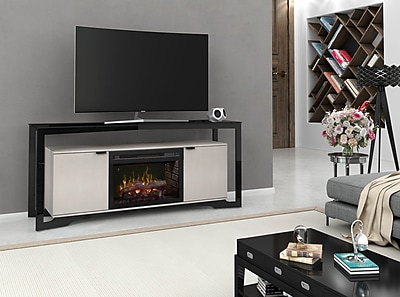Dimplex Christian 70'' TV Stand w/ Fireplace; Realogs