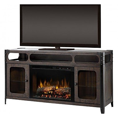 Dimplex 60'' TV Stand w/ Fireplace; Acrylic Ice