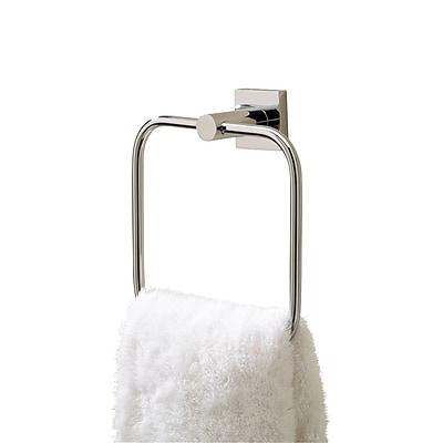 Valsan Braga Towel Ring; Chrome