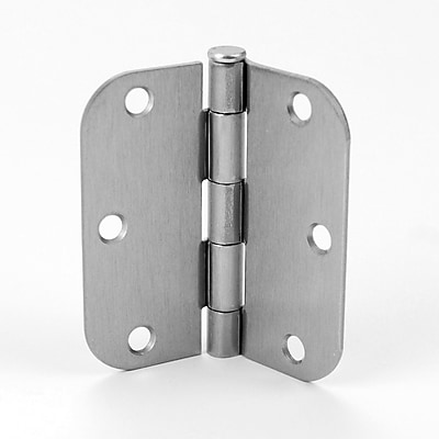 DON-JO MFG INC. Butt/Ball Bearing Single Door Hinge; Stainless Steel