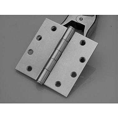 DON-JO MFG INC. Butt/Ball Bearing Single Door Hinge; Stainless Steel