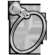 American Standard 7.13'' Concealed Mounted Traditional Towel Ring; Chrome
