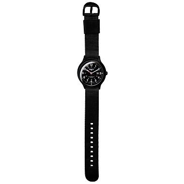 Dakota Plastic Analog Watch, Black/Charcoal, Men (7763-2)
