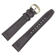 Dakota 14mm Brown Oiled Tanned Genuine Leather,Semipad Strap (60276)