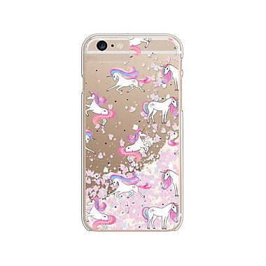 Habitu Collection Fantasy pour iPhone 6/6s/7/8 TPU scintillant, Unicorn Dream (HUD17)