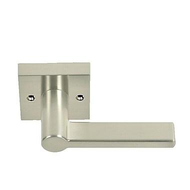 BetterHomeProducts Pacifica Handleset Door Level w/ Trim; Satin Nickel