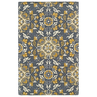Darby Home Co Tunstall Hand-Tufted Gray Area Rug; 5' x 8'