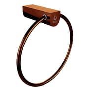 Nezza Contemporary Wall Mounted Bathroom Towel Ring Holder; Oil Rubbed Bronze