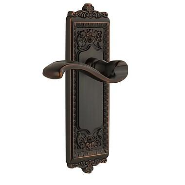 Grandeur Windsor Single Dummy Left Hand Door Lever; Timeless Bronze