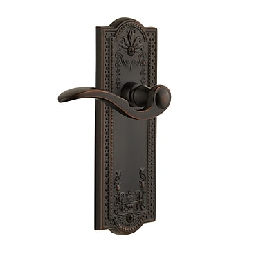 Grandeur Parthenon Bellagio Privacy Door Lever; Satin Nickel