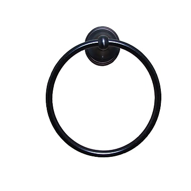 ARISTA Annchester Wall Mounted Towel Ring; Oil-Rubbed Bronze
