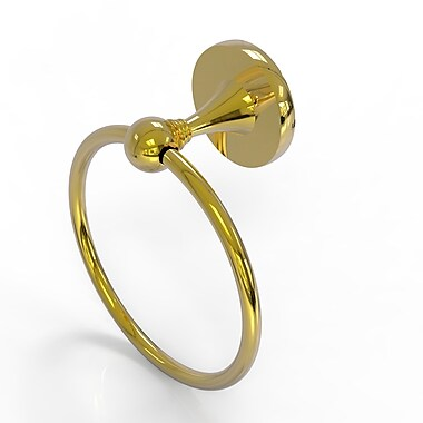 Allied Brass Shadwell Towel Ring; Polished Brass