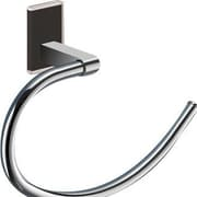 Gedy by Nameeks Maine Wall Mounted Towel Ring; Black
