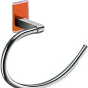 Gedy by Nameeks Maine Wall Mounted Towel Ring; Orange