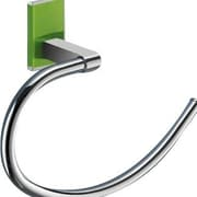 Gedy by Nameeks Maine Wall Mounted Towel Ring; Green
