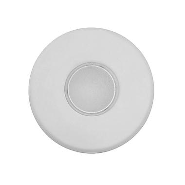 NICOR Lighting SureFit Round Ultra Slim Surface Mount LED Downlight 5.25'' Shower Recessed Trim