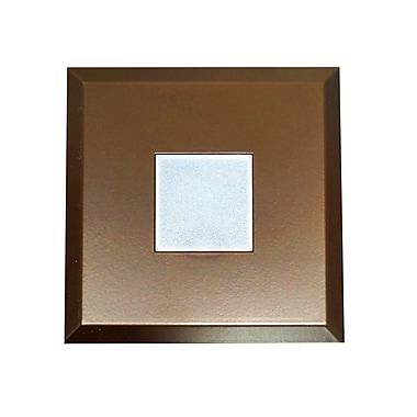 NICOR Lighting SureFit Ultra Slim Surface Mount LED Downlight 5.15'' Square Recessed Trim