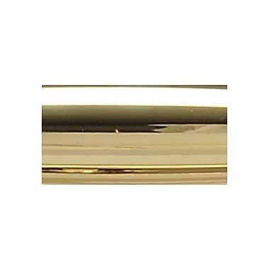 SOSS Invisible/Concealed Single Door Hinge; Bright Brass