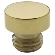 Baldwin Button Tip for Radius Corner Hinge (Set of 2); Lifetime Brass